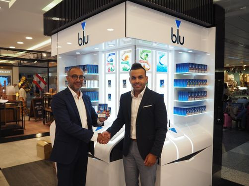 Imperial's myblu brand makes worldwide debut at Beirut Duty Free